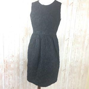 Talbots Black Textured Sleeveless Dress Size 8P